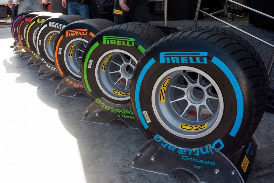 Pirelli banden uit 2017