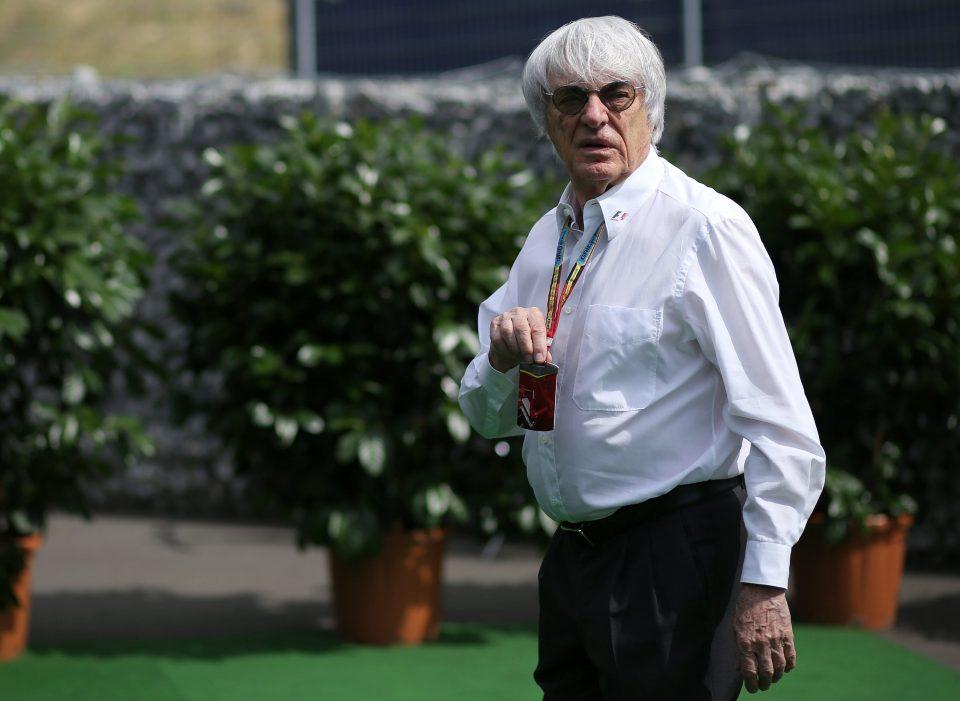 Ecclestone in zijn tijd in de leiding van de Formule 1