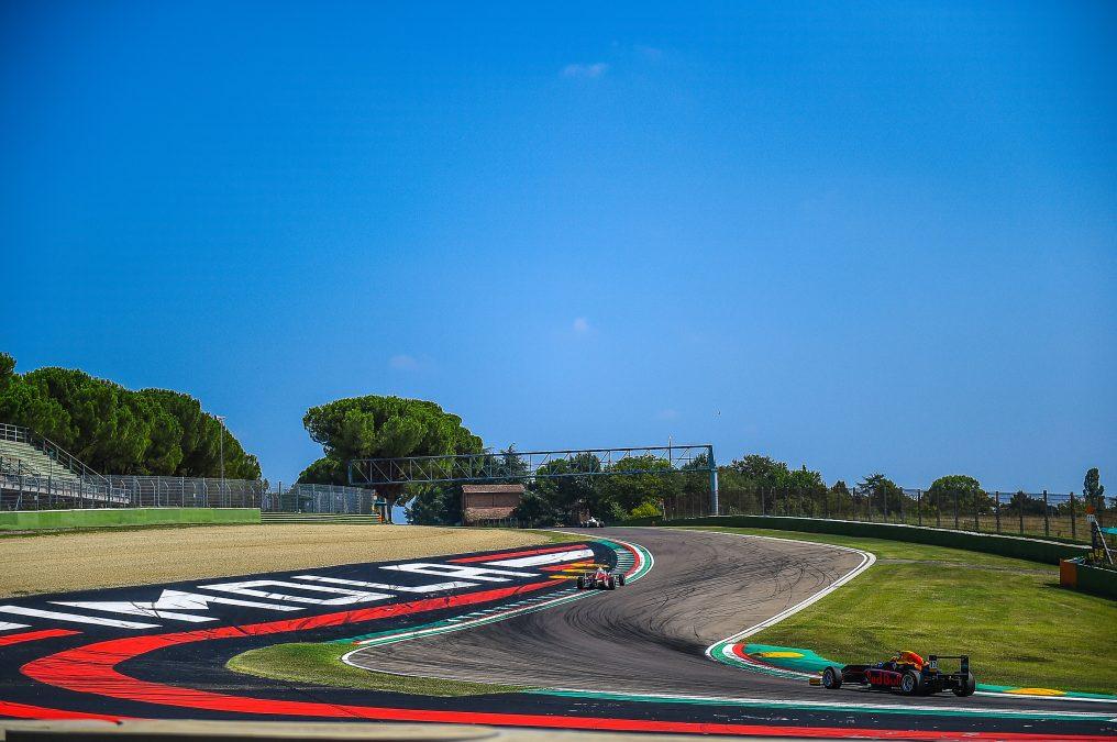 Imola tijdens de Italiaanse Formule 4 in 2019