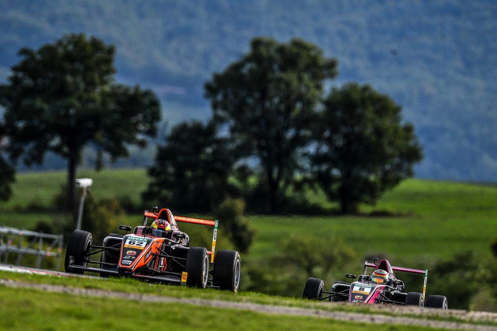 De Italiaanse Formule 4 afgelopen jaar op Mugello