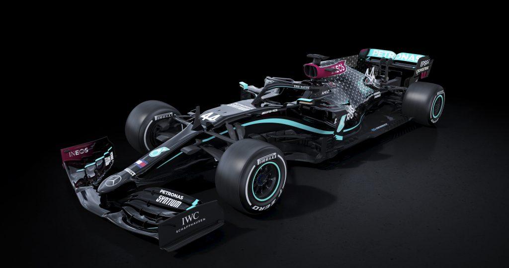 De 'Black Arrow' van Mercedes