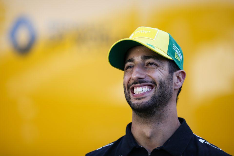 Daniël Ricciardo in Australië