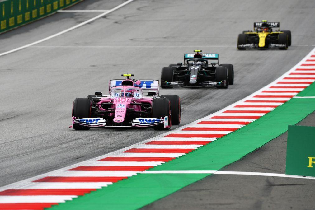 Racing Point in Oostenrijk