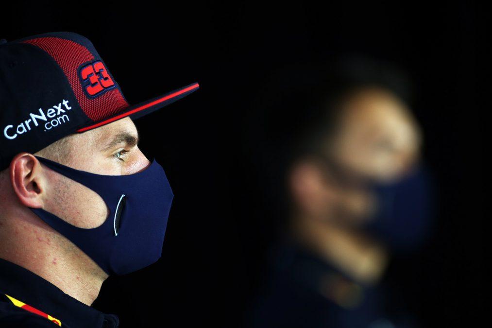 Max Verstappen op de donderdag in Hongarije