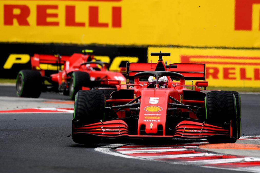 Ferrari's in Hongarije